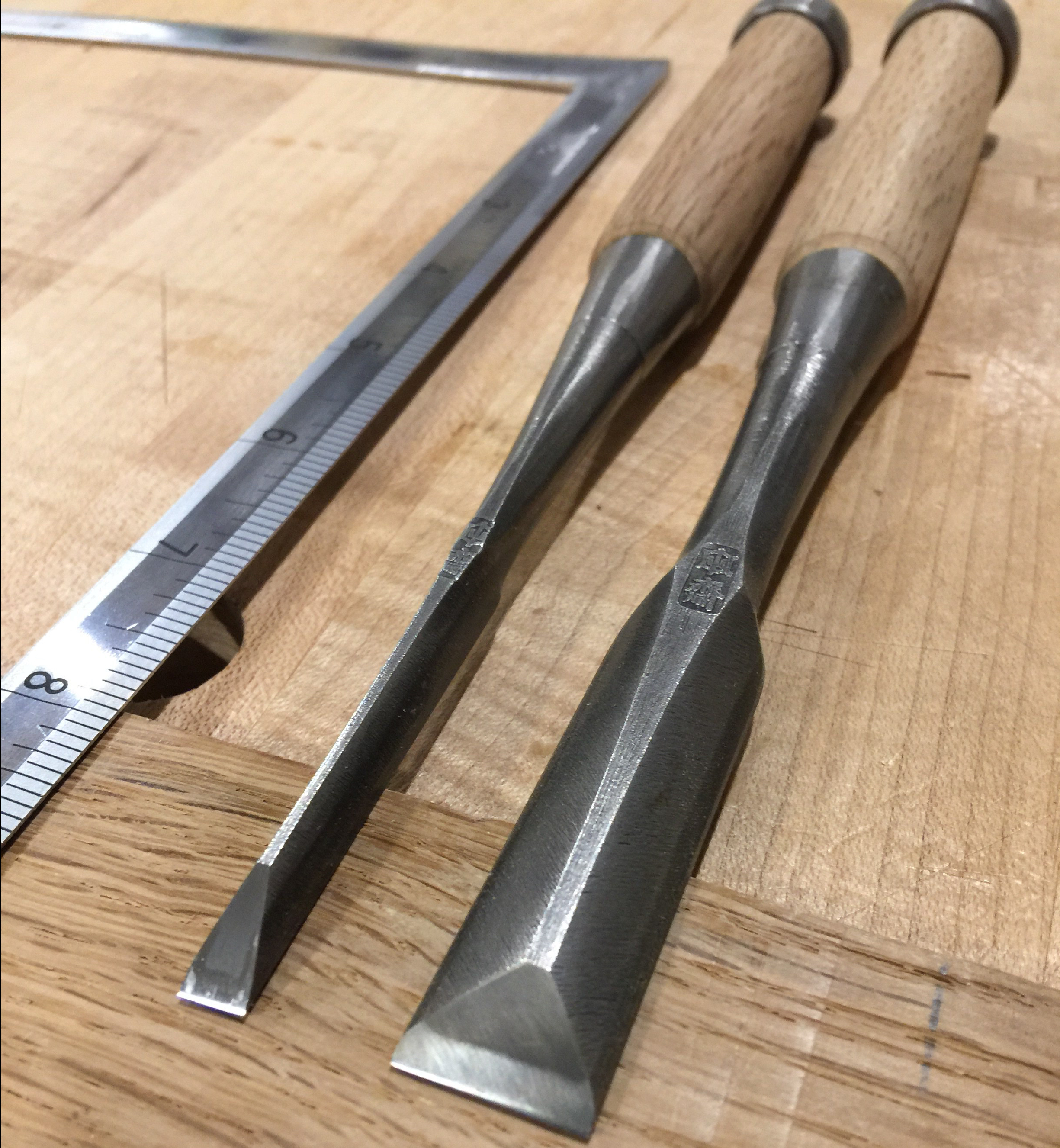 Guide to Japanese Chisels by Brian Holcombe Woodworker